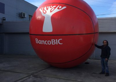 Bola Basket Banco BIC