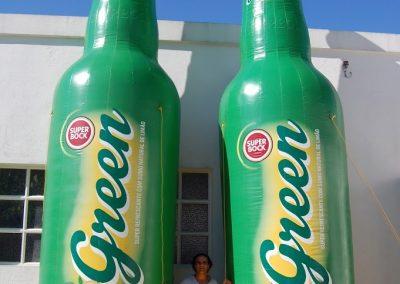 Garrafas SB Green 6m