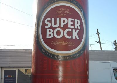 Lata Super Bock sleek 6m