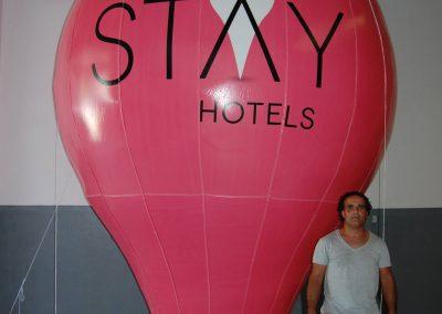 Balão Fuel 4,0 m. altura