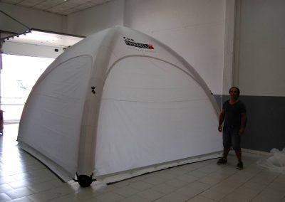 Car Premium - Event Tent 4000 com impressão na cobertura