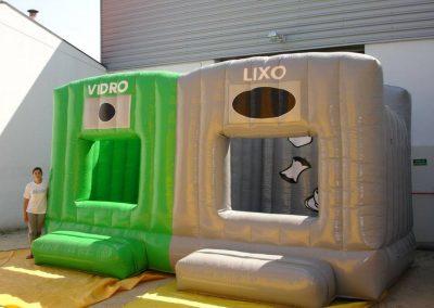 Ecoponto - Jogo pula-pula da reciclagem