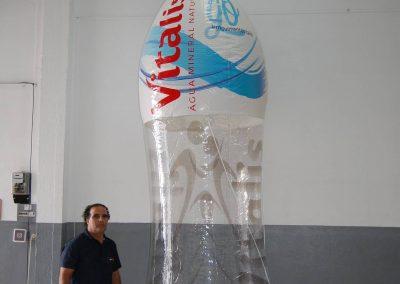 Garrafa Vitalis Go 4m altura