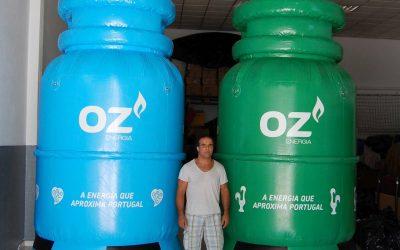 Garrafa de gás OZ