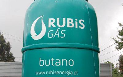 Garrafa de gás aço Rubis