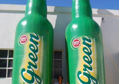Garrafas SB Green