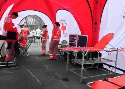 Humanity Tent - Tenda de campanha Interior
