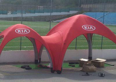 KIA - Fusion pannel de duas Event Tent 4000 (sem laterais)