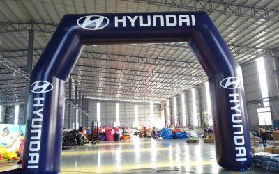 Pórtico Hyundai