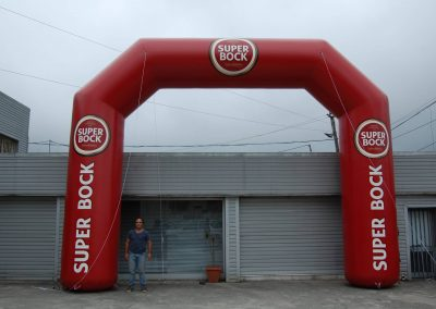 Pórtico Super Bock