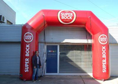 Pórtico Super Bock 4m