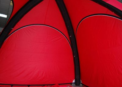 Super Bock - Interior da tenda