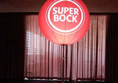 Super Bock - Lightball com 1,8m diâmetro 2