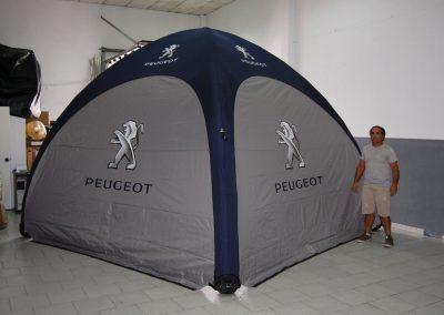 Tenda Peugeot