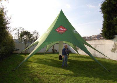 Tenda Star Lounge Cristal